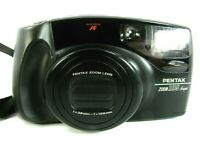 PENTAX ZOOM 105 SUPER Auto Focus AF 35mm Camera & Strap Great Condition Japan