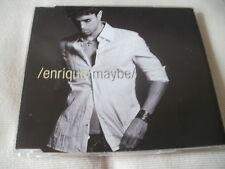 ENRIQUE IGLESIAS - MAYBE - 4 TRACK UK CD SINGLE