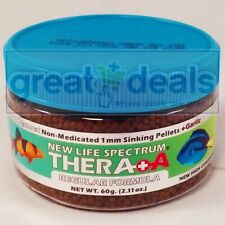 New Life Spectrum Thera + A Regular Fórmula 60g Natural Sinking 1mm Peces