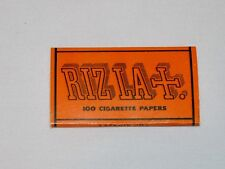 Vintage RIZLA LLF Tobacco Cigarette Rolling Papers - No. 8971 ~ NOS
