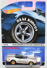 HOT WHEELS REAL RIDERS '68 OLDSMOBILE CUTLASS CONVERTIBLE #16/18 W+