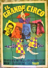 MANIFESTO ORIGINALE IL GRANDE CIRCO 59 The Big Circus VIOCTOR MATURE