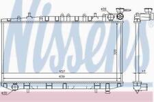 MANUAL RADIATOR WATER COOLING ENGINE RADIATOR NISSENS NIS 62961