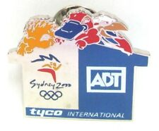 ADT SECURITY TYCO INTERNATIONAL SYDNEY OLYMPIC GAMES 2000 PIN BADGE COLLECT #352