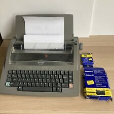 More details for vintage sharp ql-210 electronic retro typewriter made in the uk read descr