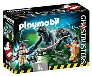 PLAYMOBIL GHOSTBUSTERS VENKMAN WITH TERROR DOGS 20PC BRAND NEW 9223 +6