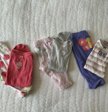 EUC Lot Of Baby Girls Clothes Outfits Size 6 Months Tops Bottoms