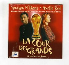 CD SINGLE (NEW)YOUSSOU N'DOUR AXELLE RED FOOTBALL COUPE DU MONDE 1998