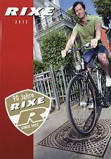 Katalog Fahrräder Rixe 2012 Fahrradkatalog Prospekt Fahrrad Fahrradprospekt