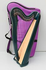 Mikel Aster 22 Strings Harp, Fully Levered and Carry Bag, Local Delivery in UK