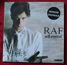 RAF, self control - italo, SP - 45 tours