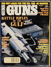 Vintage Magazine *GUNS* May, 1991 !!! RUGER Stainless P-89 PISTOL !!!
