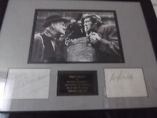 Steptoe and Son WILFRID BRAMBELL & HARRY H CORBETT hand signed framed mount