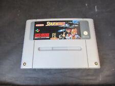 Super Nintendo SNES Game Starwing