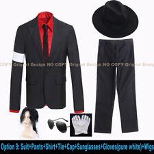 Mj Michael Jackson Suit Coat Jacket Dangerous Armband Outfit Cosplay Costume