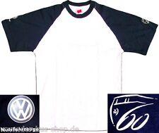 VW Bus - 60 Jahre Treffen Hannover 2007 - T-Shirt - Weiss / Blau - S