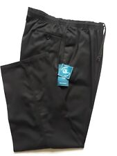 """New Woodbrie Black Rugby Trousers 44"""" Waist to 56"""" Waist"""