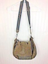 Anya Hindmarch Brown Leather Strap Tote Handbag Purse Free Shipping EUC Travel