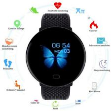 Smart Watch Heart Rate Monitor For iOS Android Phone Waterproof Fitness Tracker