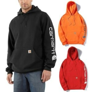 2021 Carhartt Men's Hoodie Printing Hooded Sweatshirt Fleece Casual Pullover