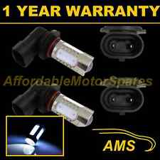 2X HB3 9005 WHITE CREE LED FRONT FOG SPOT LAMP LIGHT BULBS KIT XENON FF501901