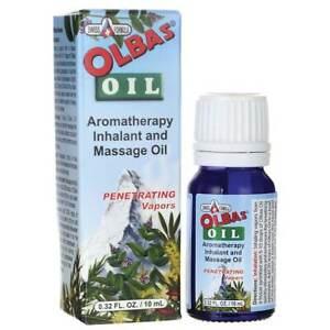 Olbas Oil - Aromatherapy Inhalant and Massage Oil 0.32 fl oz Liquid.