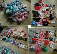 Build A Bear Workshop Clothes Huge Lot BABW Outfits Shoes 130+ Pieces