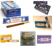 Bastoncini di incenso Satya Nag Champa Profumo misto 15 g di X 12 confezioni=180