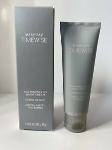 Mary Kay 3D TimeWise Age Minimize Night Cream ~ Combination To Oily