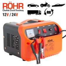 Röhr Voiture Chargeur de Batterie Intelligent régénérateur démarreur 50P 12V/24V