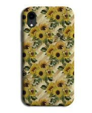 Funky Floral Sunflower Phone Case Cover Sunflowers Plant Plants Shapes G246