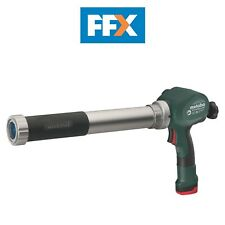 Metabo Powermaxx CG 10.8v Caulk Gun 600ml and 400ml Cartridge