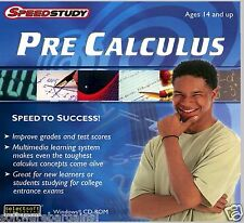 PRE-CALCULUS SPEED TO SUCCESS!  BOOST GRADES & TEST SCORES! FAST FREE SHIPPING!