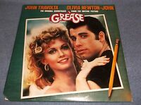 GREASE - THE ORIGINAL SOUNDTRACK FROM THE MOTION PICTURE - DOUBLE LP 1978 RSO