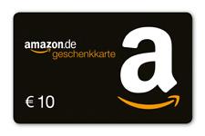 Neues AngebotAmazon Gutschein 10€ A