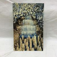 Vtg Postcard Crystal Falls Fairyland Caverns Rock City Gardens Lookout Mountain