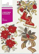 Christmas Elegance Anita Goodesign Embroidery Machine Design CD NEW 01AGHD