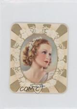 1934 Garbaty Kurmark Moderne Schonheitsgalerie Tobacco Base #61 Camilla Horn 1x2