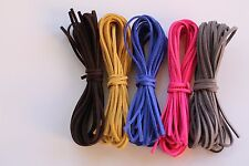 25 METERS MIXED COLOUR SUEDE LEATHER LACE/CORD - Set A
