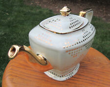 Hall China HOLLYWOOD Teapot....IVORY GOLD LABEL...downsizing PREMIER collection!