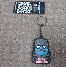 "Metal Mulisha Keychain "" Wrench Head Boys "" -- Black/blue + Free Shipping"
