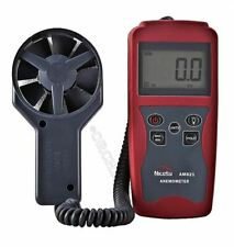 AM821 Anemomete/Flow Velocity Measuring Instrument Air SPEED:0.4~ 30M/S Digit hv