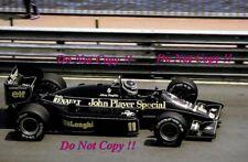 Johnny Dumfries JPS Lotus 98T Monaco Grand Prix 1986 Photograph 3