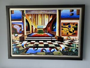"""Ferjo Hand Signed and Numbered Limited Edition Canvas Giclee:""""Timeless Voyage"""""""
