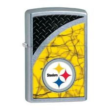 29375-053309 Nfl Steelers Street Chrome Windproof Lighter