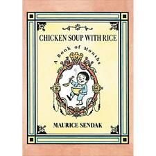 Chicken Soup with Rice Board Book: A Book of Months - Board book NEW Maurice Sen