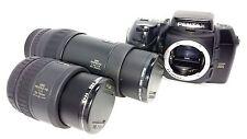 Pentax Z-1P 35mm SLR Film Camera & SMC PENTAX-FA F/4 28-70 & F/4.5-5.6 100-300mm