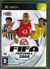 Xbox FIFA FOOTBALL 2004, Royaume-Uni PAL, NEW & Microsoft FACTORY SEALED