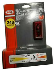 Bell Arella Bicycle Tail Light 20 Lumens Brand NEW. 3 pattern.