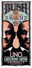 Bush Concert Handbill Veruca Salt Artist Mark Arminski New Orleans